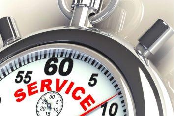 Reaktionszeiten im Service verkürzen