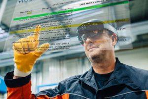 Augmented Reality erweitert den realen Arbeitsraum