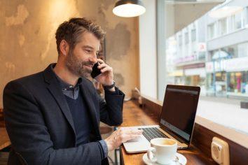 """Mobiler Arbeitsplatz setzt sich """"langsam"""" durch"""