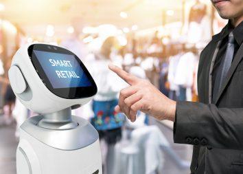 Roboter unterstützen Verkaufspersonal