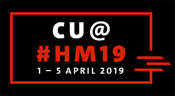 See You at Hannover Fair 19 / Besuchen Sie uns auf der Hannovermesse 2019