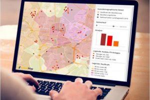 Räumliche Datenanalysen lokalisieren Verhaltensmuster