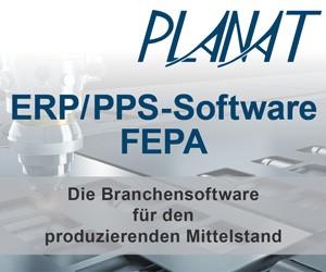 Planat: ERP/PPS-Software FEPA. Die Branchensoftware für den produzierenden Mittelstand.